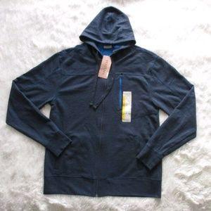 Tehama Full Zip Up Hooded Sweater